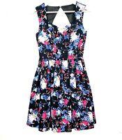 CAROLINE MORGAN Women's Sz 8 Multicoloured Sleeveless Sweetheart Fit Flare Dress