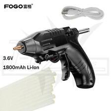 Li-Ion 3.6V Electric Cordless Hot Glue Gun DIY Adhesive Stick Melt Heating Tool