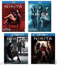 Nikita Complete Series ~ Season 1-4 (1 2 3 & 4) ~ BRAND NEW 16-DISC BLU-RAY SET