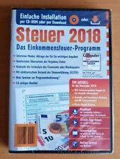 Aldi Steuer 2018 Einkommenssteuer- Programm Steuererklärung Steuerprogramm OVP