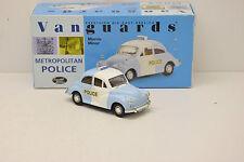 MORRIS MINOR METROPOLITAN POLICE PANDA CAR VANGUARS 1/43 NEUVE EN BOITE