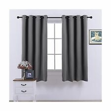 Nicetown Blackout Curtains Window treatment Panel Drapes - (Gre... Free Shipping