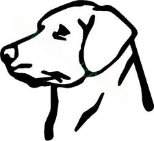 Labrador Retriever vinyl decal/sticker dog animal pet puppy lab hunt