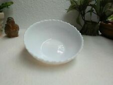 Original ARCOPAL FRANCE Salad Bowl Groove Design White Collection Madein FRANCE