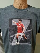 More details for bryan robson 1980s style t shirt captain marvel robbo number 7