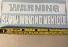 Coche ventana calcomanía-Advertencia-lento vehículo en movimiento Pegatina de vinilo, Van, Laptop