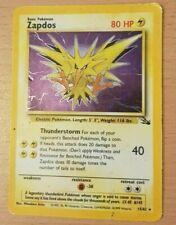 Pokemon Zapdos 15/62 Fossil Holo 1999