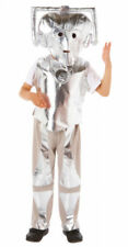 Official Doctor Who Cyberman Kids Fancy Dress Costume - Size 3 - 5 Years - NEW