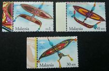 Malaysia Traditional Kites 2005 Traditional Culture Games (stamp margin) MNH