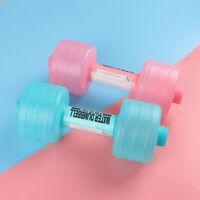 Body Building Water Dumbbell Weight For Training Sport Exercise Equipmen DP