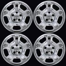 "4 CHROME 02-07 Jeep Liberty 16"" Wheel Skins Hub Cap Tire Covers 5 Lug Steel Rim"