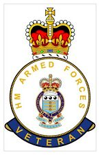 Classic HM Armed Forces RAOC Royal Army Ordnance Corps Veterans specific Sticker