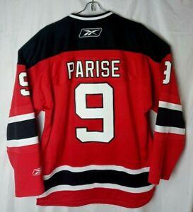 Reebok  Men L New Jersey Devils #9 Zach Parise Jersey  NHL