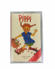 Pippi Goes on Board Cassette Tape 1997 Narrated by Liza Ross New & Sealed