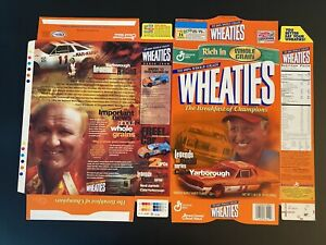 Carl Yarborough Legend Of Racing Wheaties Box New Factory Flat