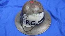 WW2 Zuckerman Fire Guard, Civil Defence Helmet