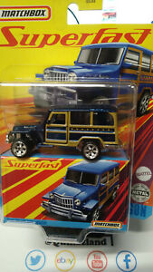 Matchbox Superfast 1962 Willy's Jeep Wagon (NG115)