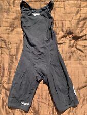 Speedo Legsuit, Powerskin, Genou Peau, Racesuit Taille UK 27
