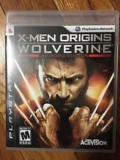 X-Men Origins: Wolverine - Uncaged Edition (Sony PlayStation 3, 2009) Complete