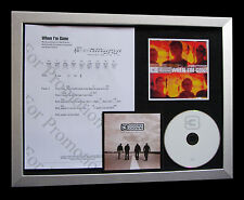 3 DOORS DOWN When I'm Gone QUALITY MUSIC CD FRAMED DISPLAY+EXPRESS GLOBAL SHIP