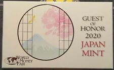 Japan World Money Fair 2020 annual set WMF Berlin Berlijn 500 sets silver medal