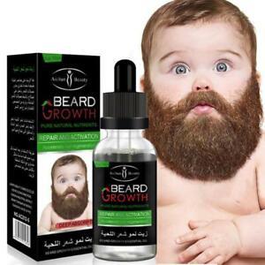 Natural Organic Men Beard Growth Oil Beard Wax balm Hair Loss Products Fast Grow