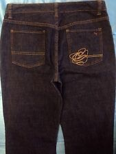 Zoo York Jeans Women's Soft Dark Denim Embroidered Size 28 x 32