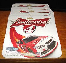 KEVIN HARVICK #4 BUDWEISER BEER COASTERS NASCAR CHAMPION SET OF 16 NEW