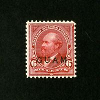 Guam Stamps # 6 F-VF Fresh OG LH Catalog Value $125.00