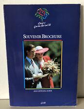 More details for official glasgow garden festival 1988 souvenir guide brochure book - vintage