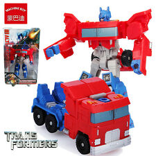 MACHINE BOY TRANSFORMERS OPTIMUS PRIME ROBOT TRUCK ACTION FIGURE KID PLAYSET TOY