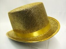Top Hat  Gold  Cabaret  Moulin Rouge  Dance  Showgirl Topper Theatrical quality