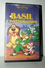 BASIL L'INVESTIGATOPO FILM USATO BUONO STATO VHS VERSIONE ITALIANA GS2 42592