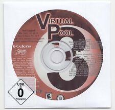 PC: Virtual Pool 3 - Billiard -Win 98/Me/2000/XP *Neu*