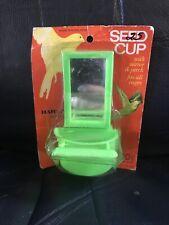 Vintage Bird Cage Hartz Mountain Seed/Treat Cups