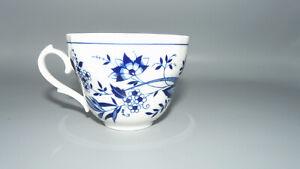 Zehendner Bavaria Tirschenreuth Zwiebelmuster kobalt blau Kaffeetasse 8,5 cm Dm