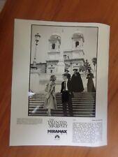 Vintage Glossy Press Photo Movie The Talented Mr.Ripley Matt Damon Jude Law #11