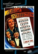 Letter of Introduction (Adolphe Menjou) - Region Free DVD - Sealed