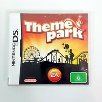 THEME PARK DS (Nintendo DS)  Video Game (2007) - Complete