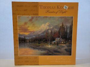 Thomas Kinkade Painter of Light Evening Majesty 1000 Piece Jigsaw Puzzle SEALED