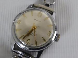 (Ref165DU L) Ladies Summit Wristwatch Working