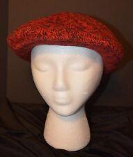 VTG Wool Beret Beanie's Cap Hat Wool Blend OSFA USA EUC Gatsby Newboy Cabbie
