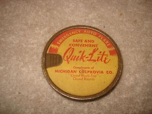 Antique Emergency Auto Flare Quick-Lite unused Rare
