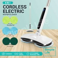 Electric Floor Polisher Waxing Mop Cleaner Tile Window Wet Dry Washer Sweeper