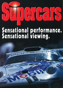 Supercars (DVD, 2009)*R4*Terrific Condition*