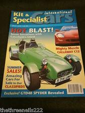 KIT & SPECIALIST CARS - CALLAWAY C12 - JULY 1999