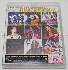 New f(x) the 1st concert DIMENSION 4 Docking Station in JAPAN Blu-ray Sumapura