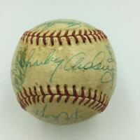 RARE 1976 Cincinnati Reds World Series Champs Team Signed Baseball PSA DNA COA