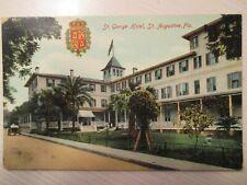 Vintage Postcard St. George Hotel St. Augustine Florida
