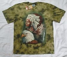 Native American Wolf and Eagle XL t-shirt